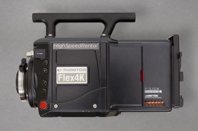 Phantom Flex 4K Camera Rent for any location in Europe